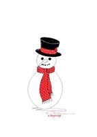 150 x KL001 Snowman