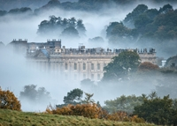 Chatworth House Mist